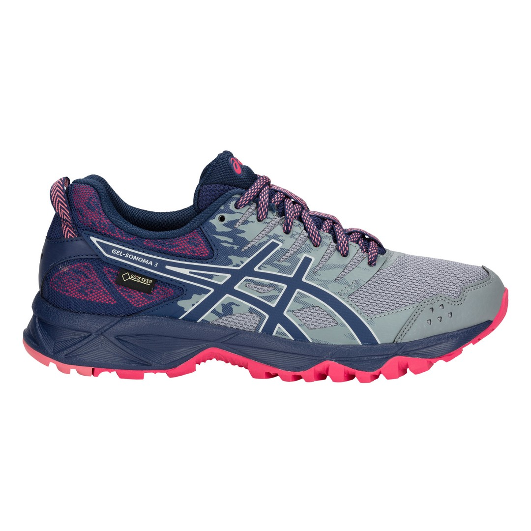 Asics GEL-SONOMA 3 G-TX, ženski tekaški copati, vijolična