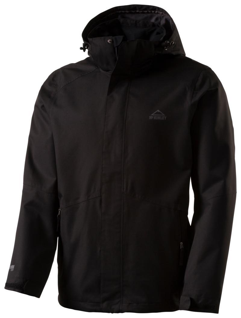 McKinley TERANG SHELL II UX, moška pohodna jakna, črna