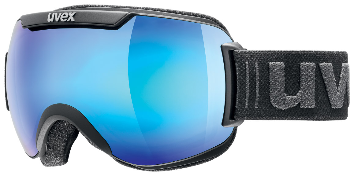 Uvex DOWNHILL 2000, smučarska očala, črna