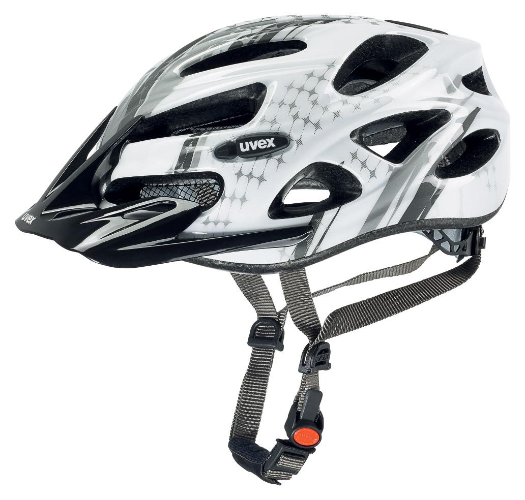 Uvex ONYX, ženska kolesarska čelada, bela