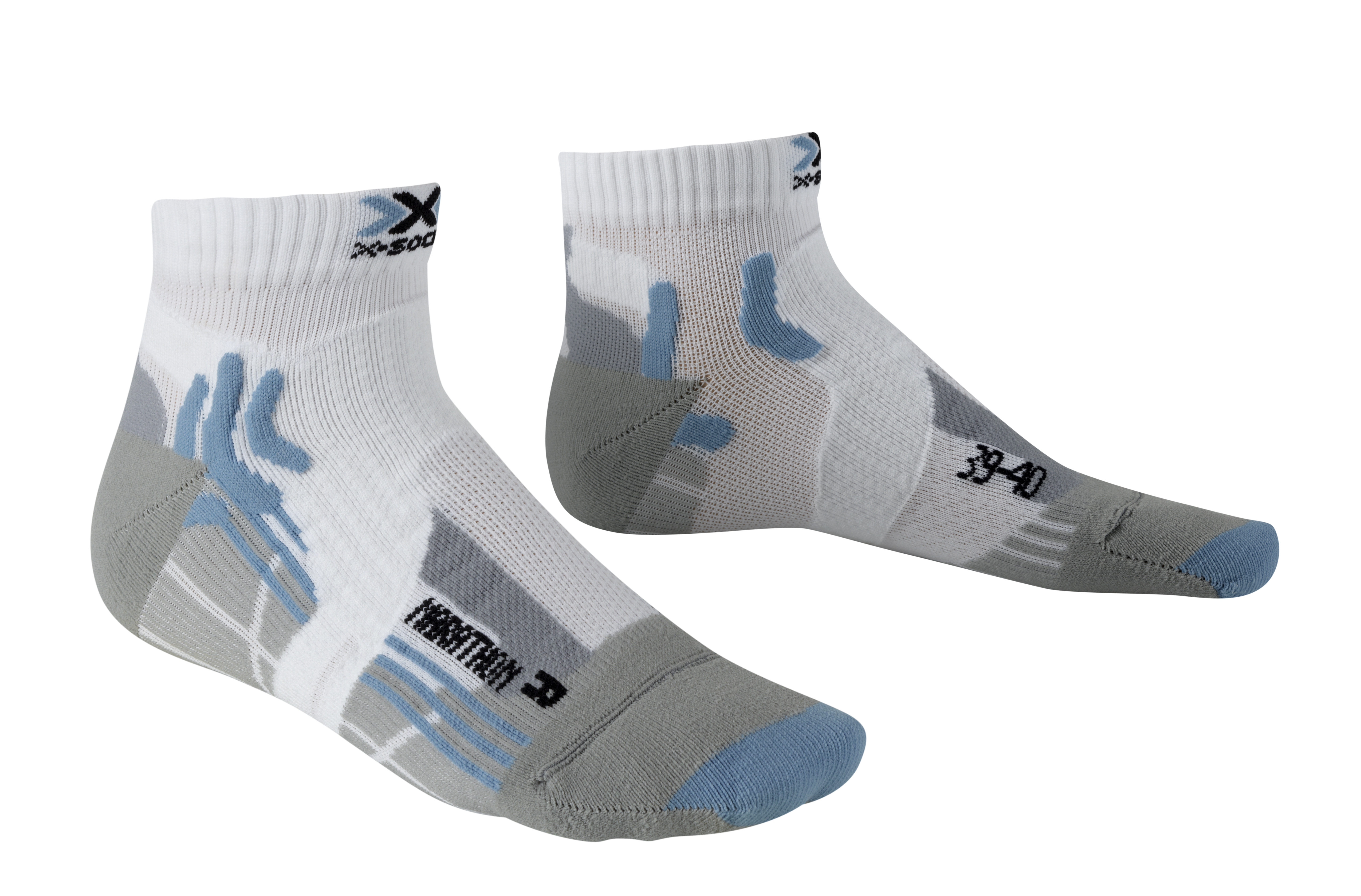 X-socks MARATHON, nogavice ž.kr tek, bela