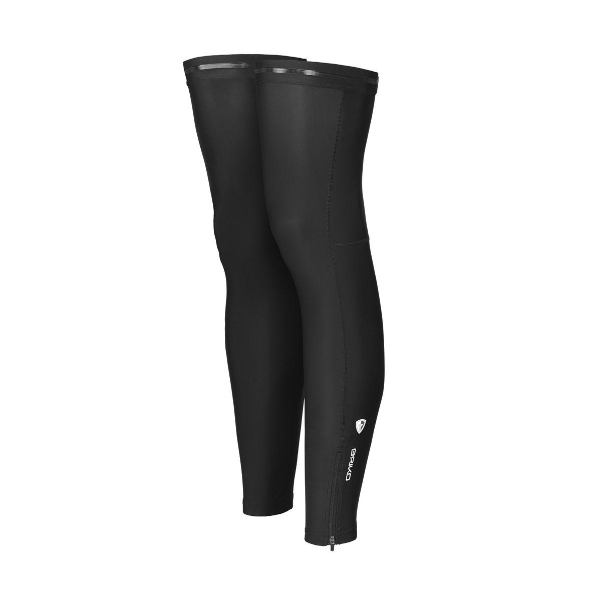 Briko LEG WARMER L100 LIGHT, kolesarski dodatki, črna