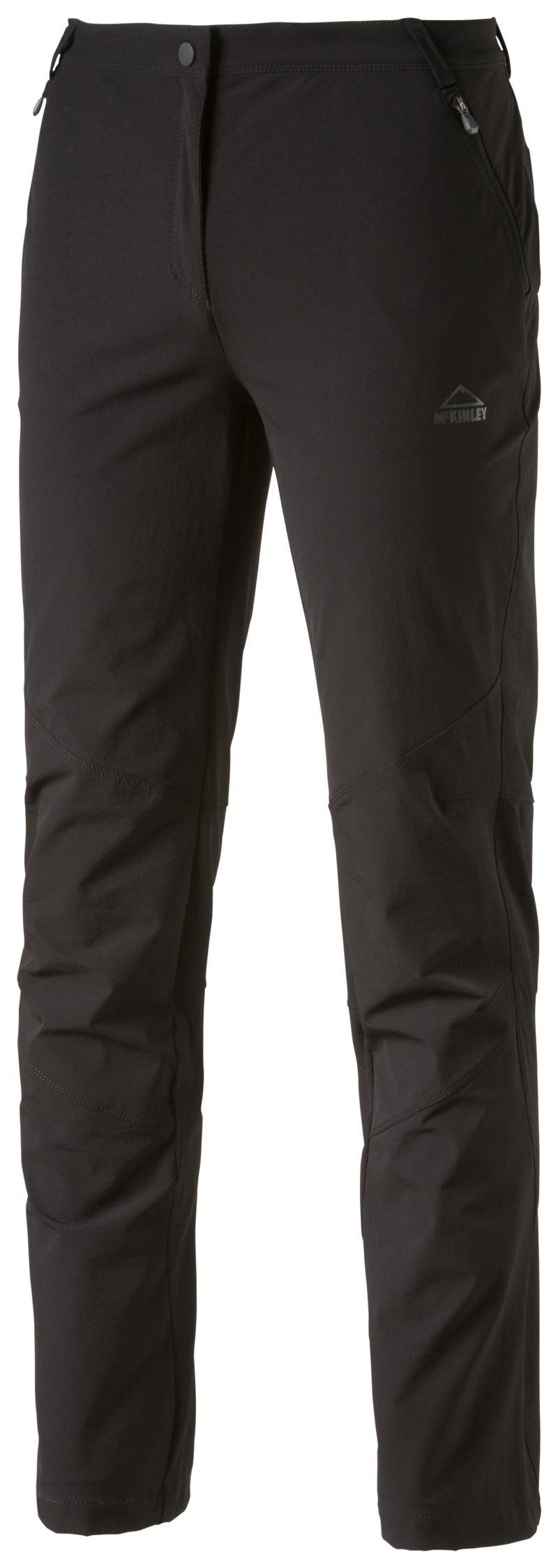 McKinley YUBA WMS, ženske pohodne hlače, črna